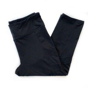 Betsey Johnson • Mesh Inset Cropped Leggings